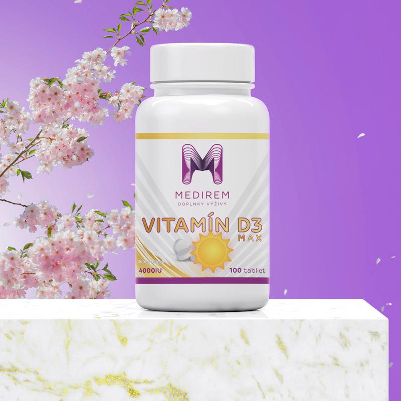 Medirem - Vitamín D3 Max